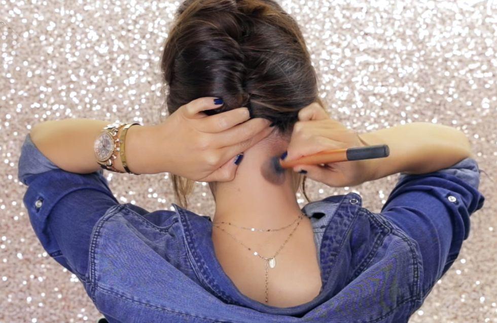 ¿Maquillar tu cuello para parecer más delgada por detrás? Sí, ha llegado el neck contouring