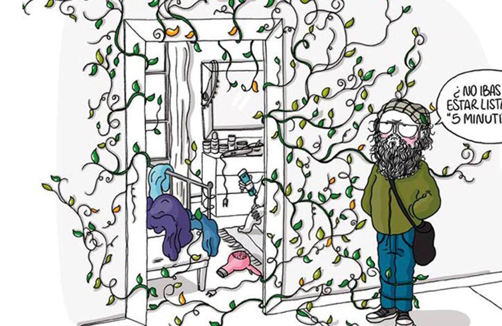 ¡Para partirse de risa! 6 ilustraciones que solo las mujeres entendemos completamente