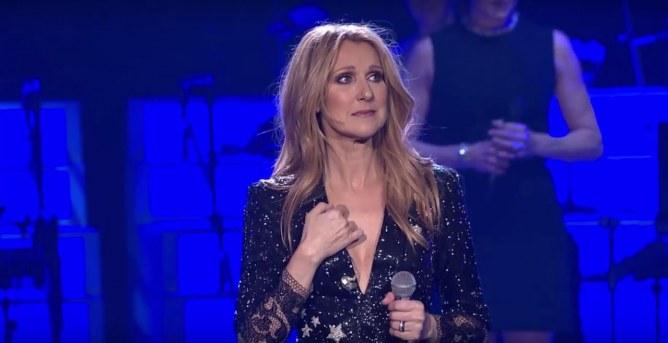 Céline Dion bouleversée