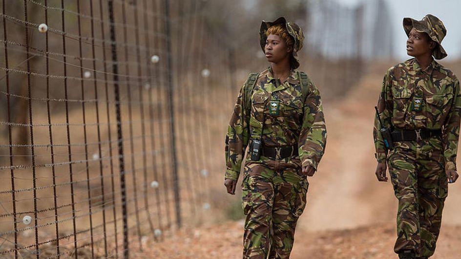 Las Black Mamba, el primer grupo de mujeres que lucha contra la caza furtiva