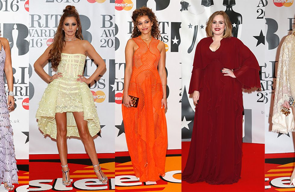 All The Best Looks From The Brits 2016 AKA The Adele Awards