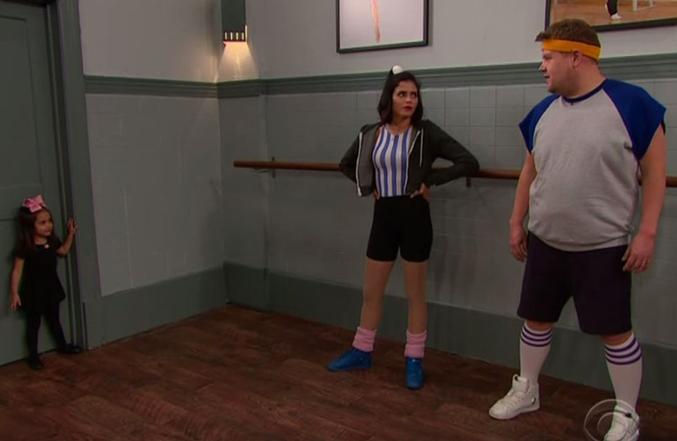 James Corden And Jenna Dewan Tatum Just Did 'Toddlerography' And It Was The Cutest