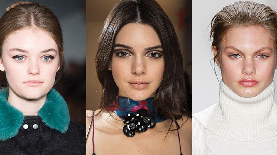 100% vida real! Assim são as tendências de beleza das semanas de moda internacionais de outono/inverno