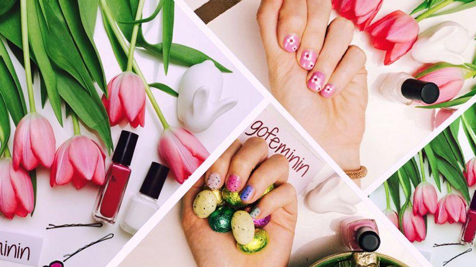So süß & genial einfach! Mit diesen Tutorials gelingen euch perfekte Frühlingsnägel!