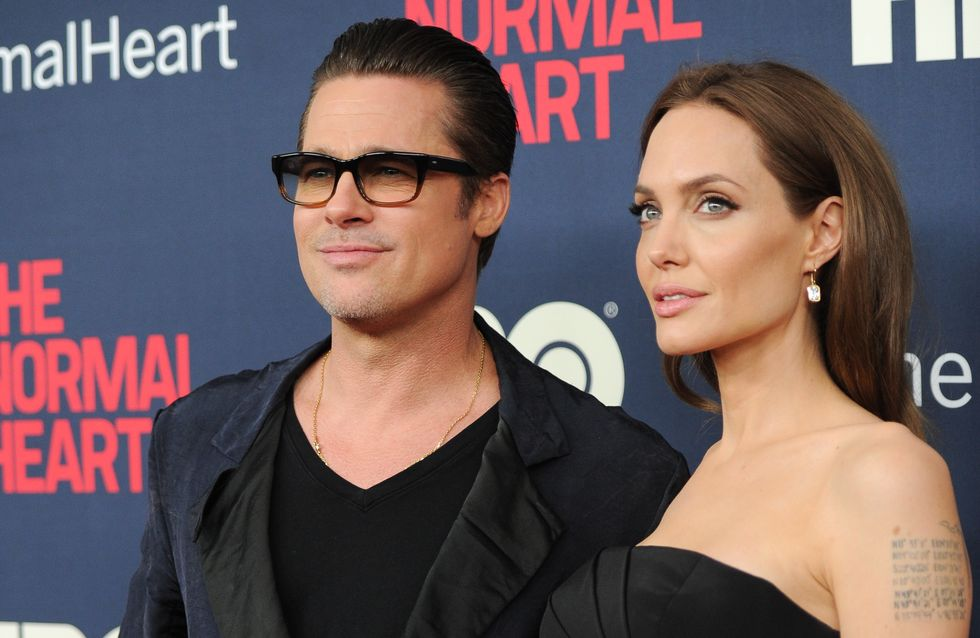 Brad Pitt, infiel a Angelina Jolie con Selena Gómez