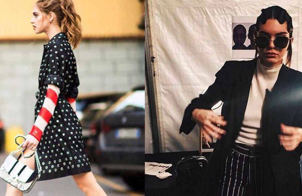 Kendall Jenner, Chiara Ferragni... La Fashion Week vue par les reines d'Instagram
