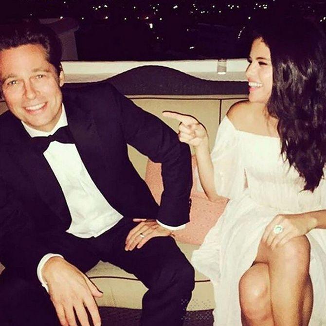 Brad Pitt y Selena Gómez