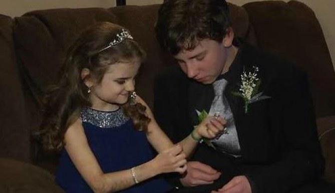 Ce garçon a fait tout son possible pour réaliser le rêve de sa petite sœur