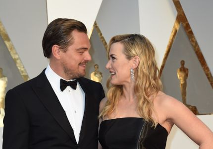 Leonardo DiCaprio et Kate Winslet ensemble