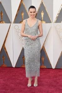 Daisy Ridley at the Oscars 2016