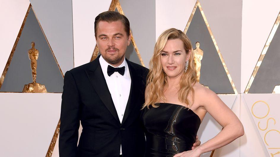 La coppia Kate Winslet - Leonardo DiCaprio ruba la scena agli Oscar 2016