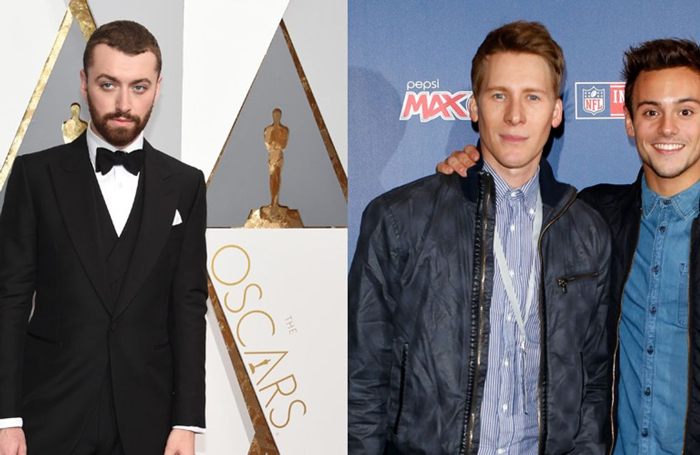 Dustin Lance Black Just Called Out Sam Smith After His Oscar Win And It Was REALLY Awkward