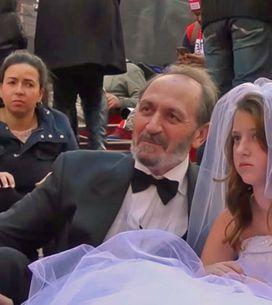 [Vídeo] El matrimonio entre una niña de 12 años y un hombre de 65 que escandaliz