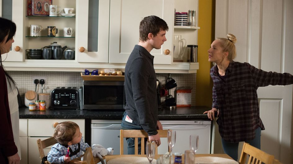 Eastenders 7/3 - Mick enlists the help of Babe and Lee to throw a surprise lunch for Linda