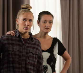 Eastenders 8/03 - Denise is left reeling from Jordan's bombshell