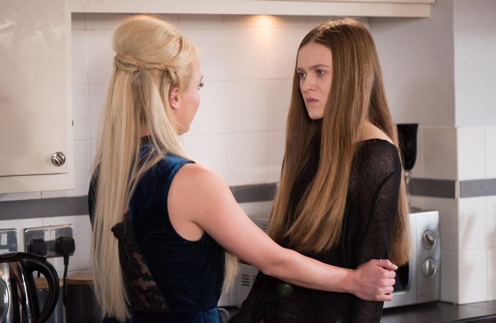 Hollyoaks 7/03 - Cameron struggles to cheer Peri up