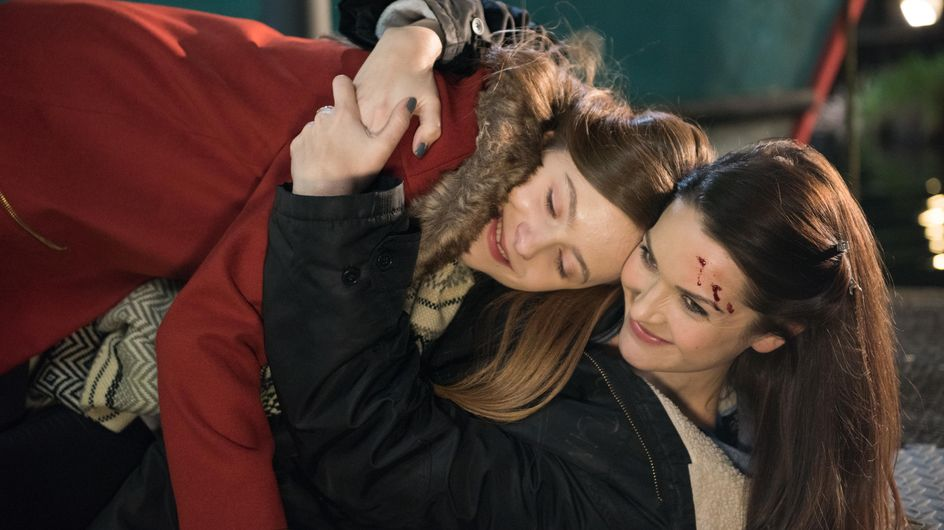 Hollyoaks 8/03 - Diego makes Grace think that Trevor must be seeing another woman
