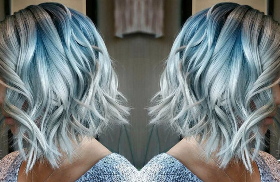 Denim Hair: The Newest Hair Trend That Matches Your Jeans