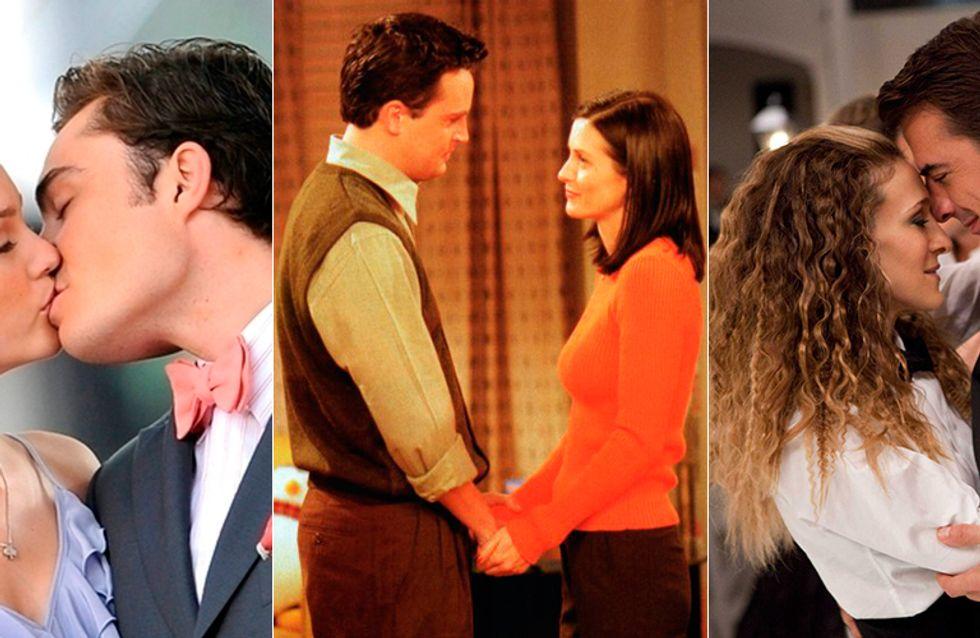 Você sonha com um romance de TV? Faça o teste e combine os casais com as séries