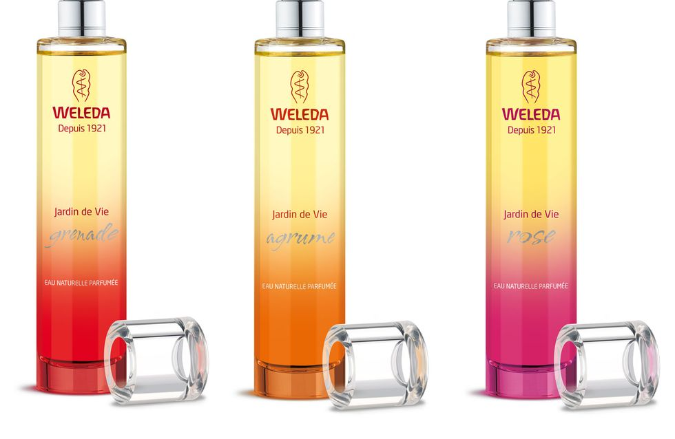 Weleda élargit sa gamme d'eaux naturelles parfumées