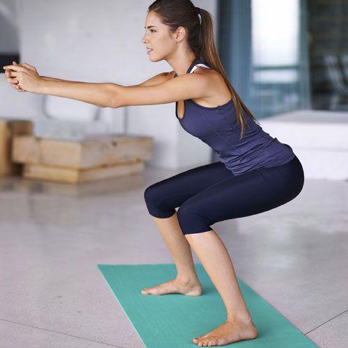 Trainingsplan für Zuhause: Beine & Po