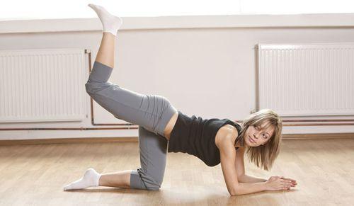 Trainingsplan für Zuhause: Training für Beine & Po