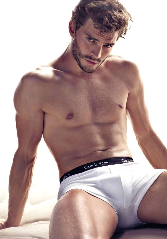Jamie Dornan, un Christian Grey anatómicamente perfecto.