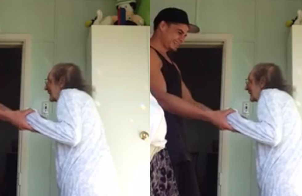 This Guy Had A Dance With His Grandma And It's The Sweetest Thing You'll See Today