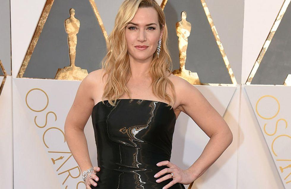 Kate Winslet, reflectante en los Oscar, peor look de la semana