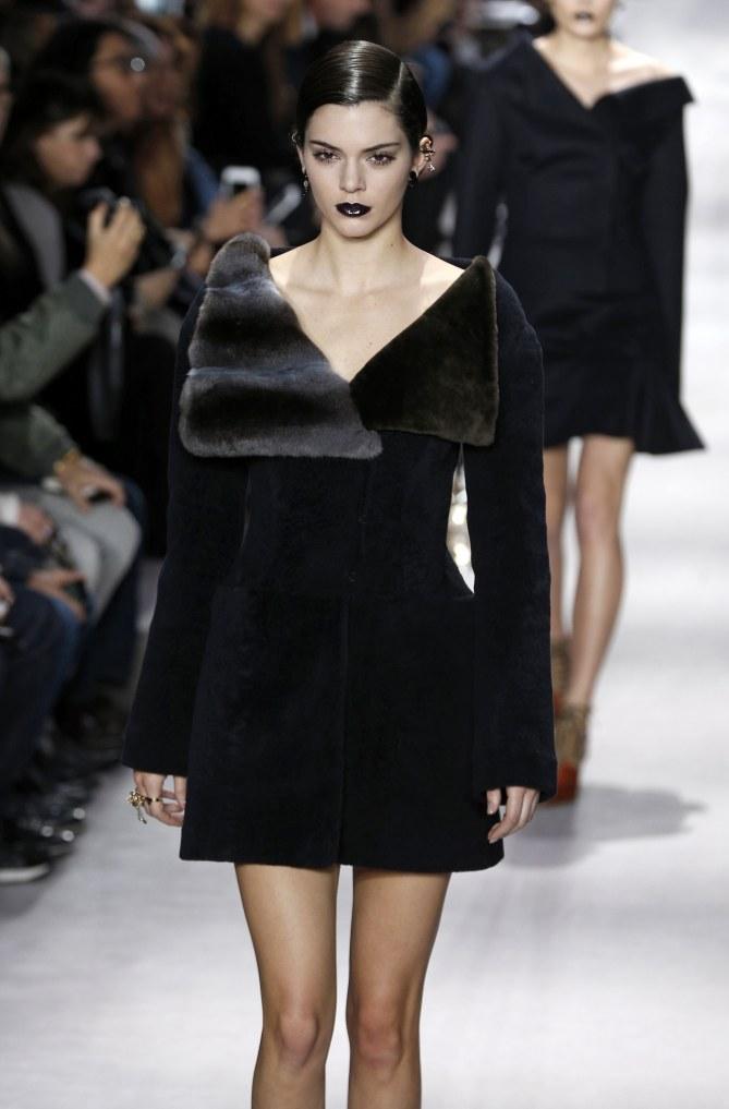 Kendall Jenner au défilé Dior