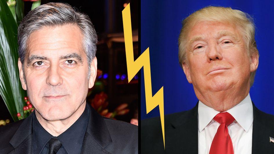 George Clooney critique sévèrement Donald Trump