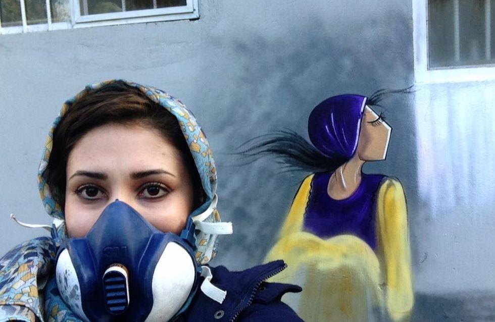 Shamsia Hassani, la prima disegnatrice afghana che racconta la forza delle donne (foto)