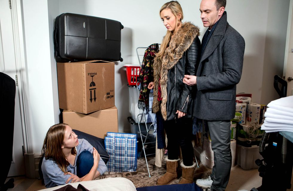 Coronation Street 18/3 - Billy and Eva take the law into their own hands