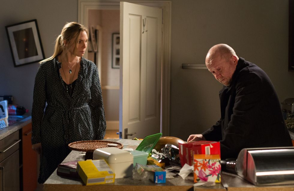 Eastenders 14/03 - Ronnie finds Phil destroying the kitchen