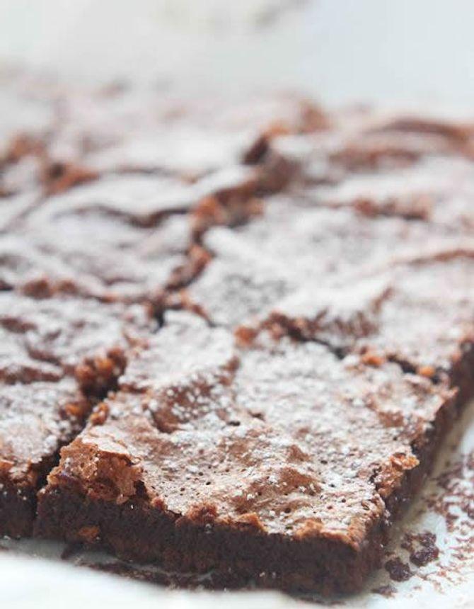 Les brownies au nutella sans farine