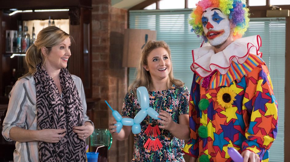 Hollyoaks 15/03 - John Paul tries to avoid Mrs St Claire