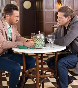 Hollyoaks 16/3 - John Paul and Scott have a heart-to-heart about their families