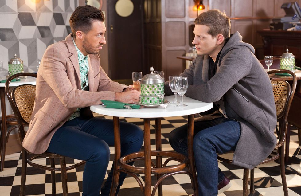 Hollyoaks 16/3 - ​John Paul and Scott have a heart-to-heart about their families