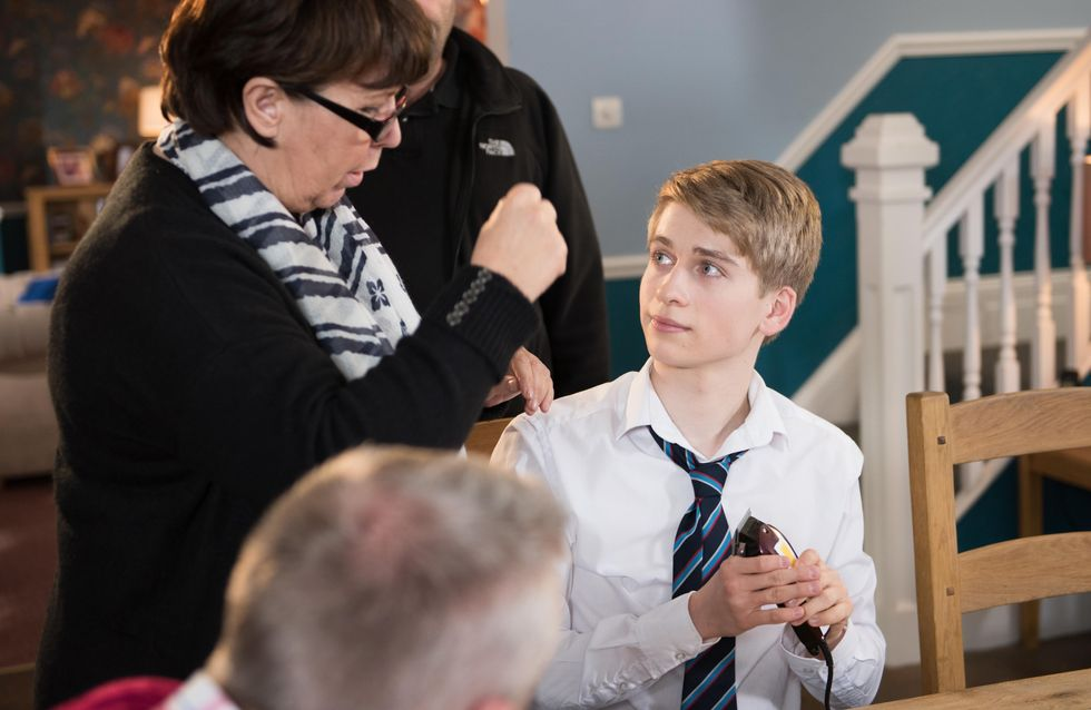 Hollyoaks 17/3 - Jack and Tom comfort Jade