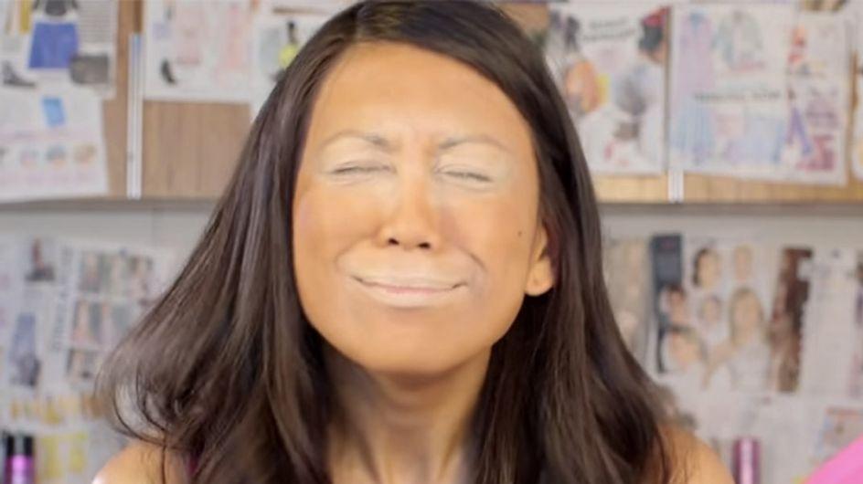 This New Orange Makeup Trend Is Coming Up 'Trumps'