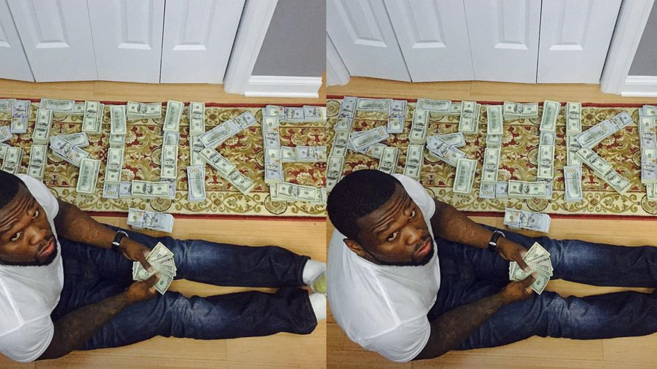 """50 Cent Insists He Flaunted """"Fake Cash"""" After Bankruptcy Judge Called Out His Instagram"""