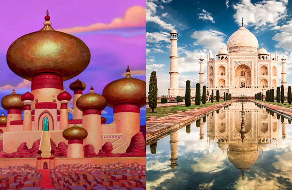 Lugares con magia: 25 sitios reales en los que Disney se ha inspirado para sus películas