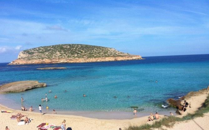 Platz 10:  Cala Comte, Ibiza, Balearen (Spanien)