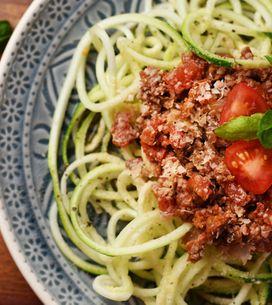 Zoodles, los espaguetis de verduras que conquistarán tus cenas