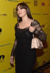 Monica Bellucci au Miami Film Festival