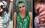 Blu serenity, cherry bombre e rose gold: tutti i trend colore capelli più pazzi