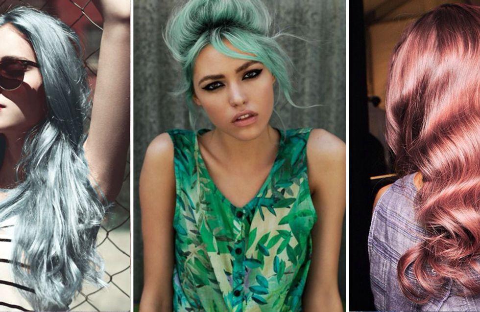 Blu serenity, cherry bombre e rose gold: tutti i trend colore capelli più pazzi del 2016!