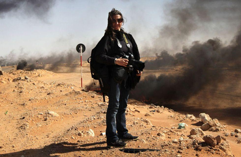 Lynsey Addario, la fotógrafa de guerra capaz de hacernos temblar con sus imágenes