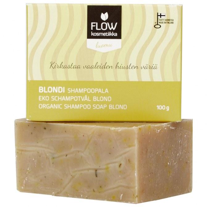 FLOW kosmetikka Shampoo Blond, 10,99 €