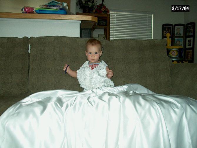 Allison mit 1 Jahr